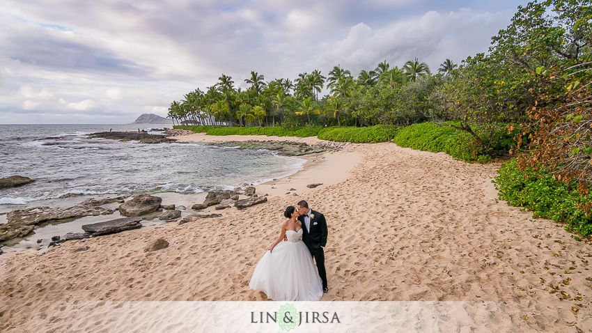 JW Marriott Ihilani Hawaii Wedding Scenic wedding photos