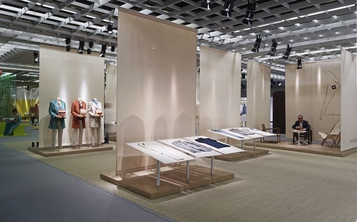 Lardini Stand by Meregalli Merlo Architetti Associati for Pitti Uomo 2013, Florence – Italy » Retail Design Blog