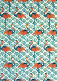 Flamingo Wrap Turquoise, Vivid Wrap