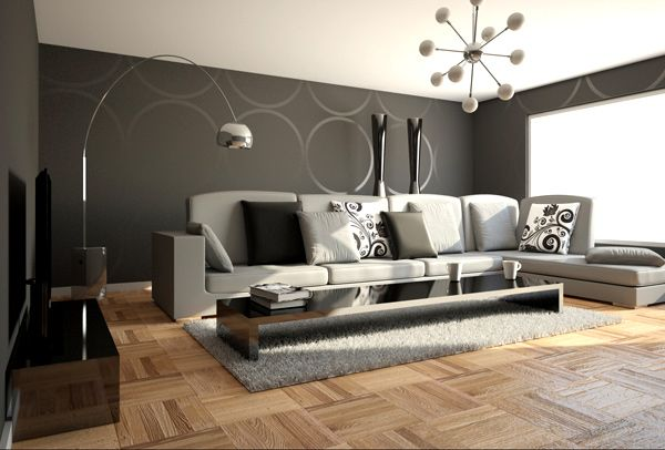 Black White And Gray Room Ideas | 21 Stunning Minimalist Modern Living Room  Designs For A Sleek Look .