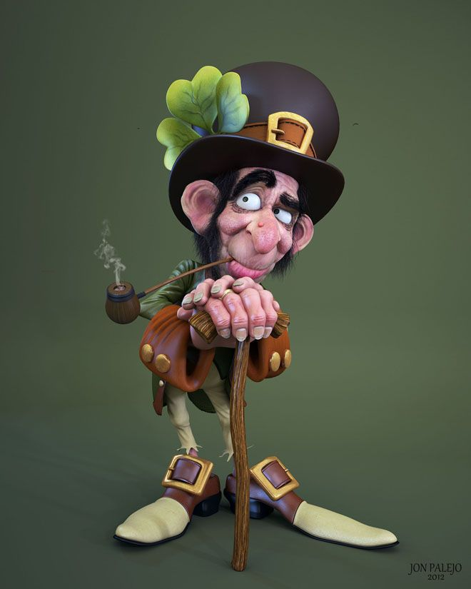 Cartoon Characters 3d Model : Funny cartoon characters and d models design