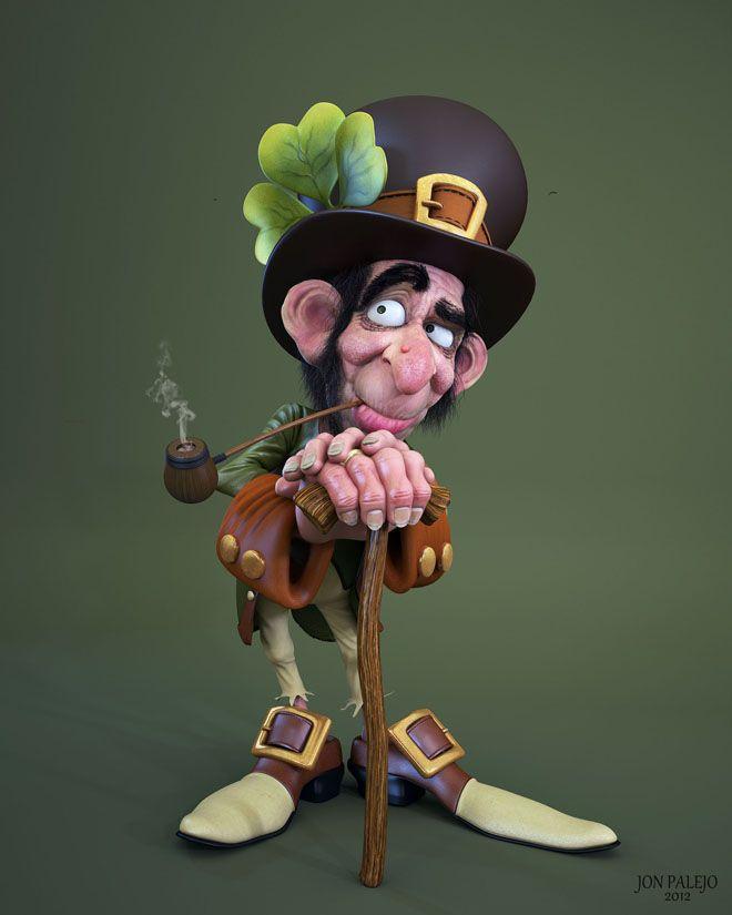 Best Cartoon Character Design : Funny cartoon characters and d models design