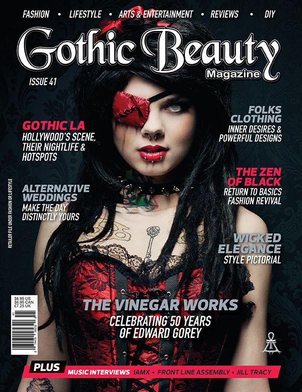 gothic beauty magazine - Google Search | Photoshoot