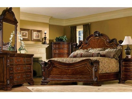 Old World Panel Bedroom Set Furniture http://www.maxfurniture.com/bedroom/traditional/old-world-panel-bedroom-set-by-art-furniture.html:
