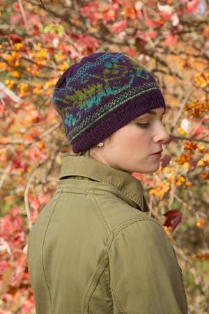 Grapevine Hat | NorthCoast Knittery