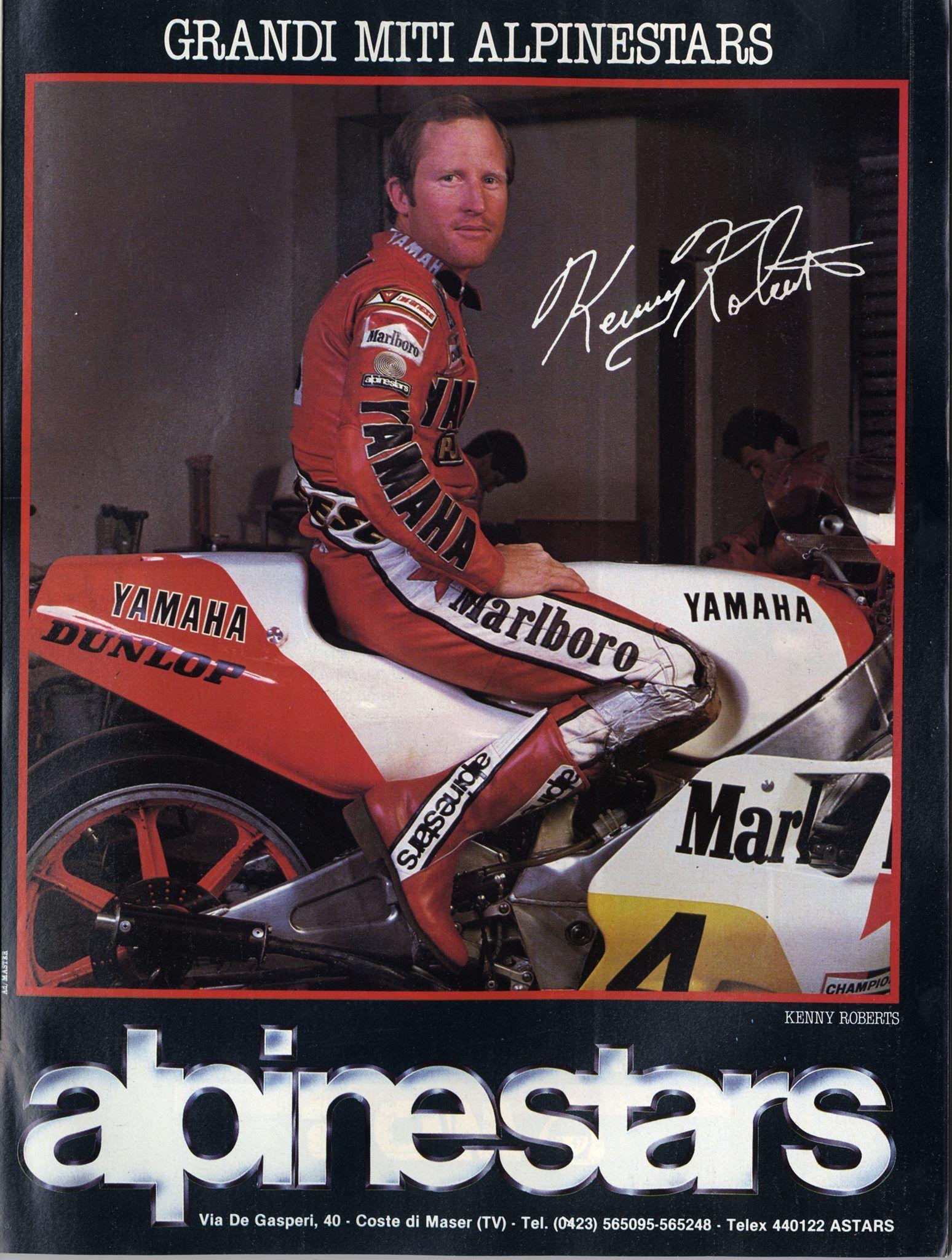 Vintage Brochures: Alpinestars & Kenny Roberts 1983 (Italy)
