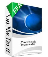 25% OFF = $37.50  Facebook FriendAdder is the most professional facebook automation tool.