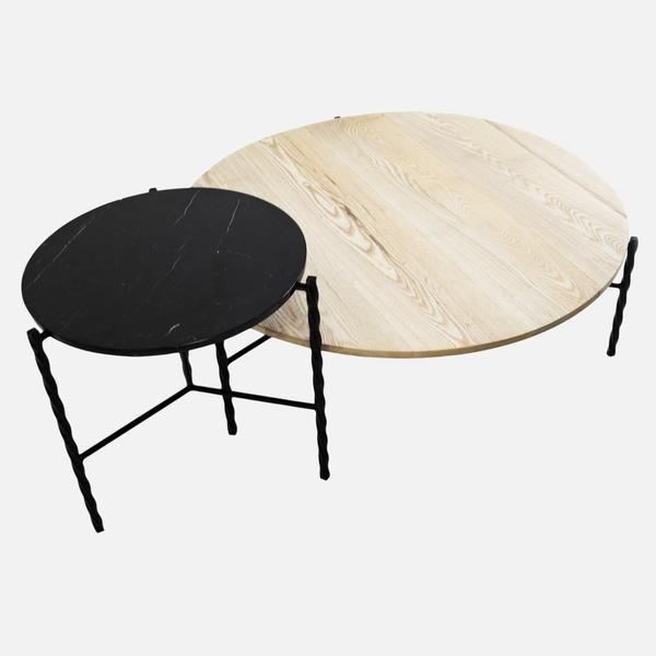 Von Iron Side Table Small With Images Modern Side Table