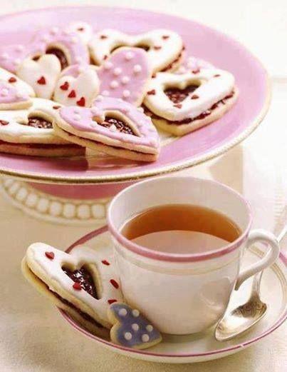 Thé et douceurs