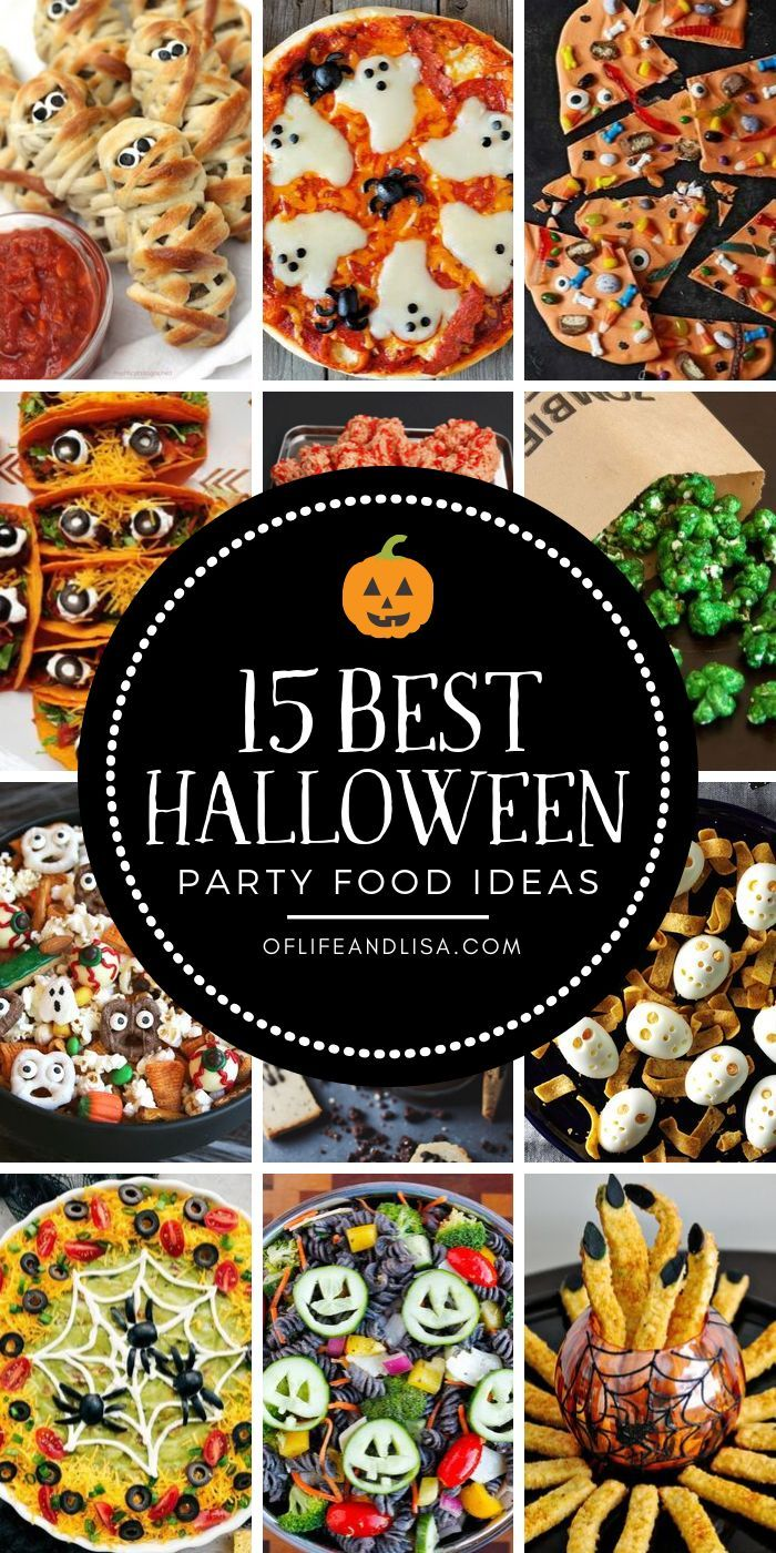 15 Most Brilliant Halloween Party Food Ideas | Of Life + Lisa