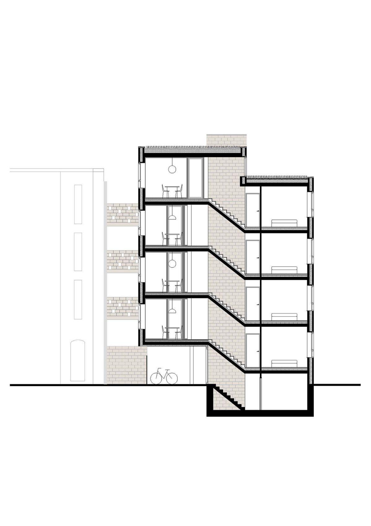 Dierendonckblancke . Apartment building   at Dambruggestraat . Antwerp  (15)