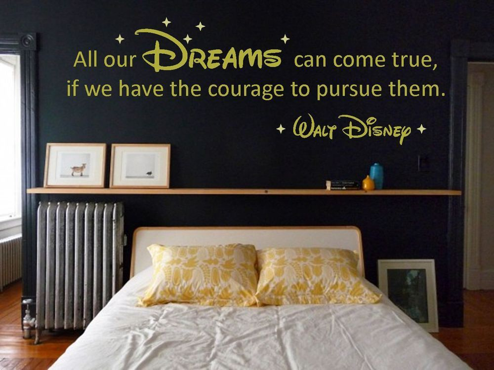 This Is A Great Quote Bedroom Wall Disney Bedrooms Disney