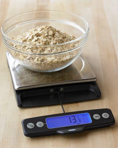 OXO Food Scale, 11-Lb. Capacity | Cocinas