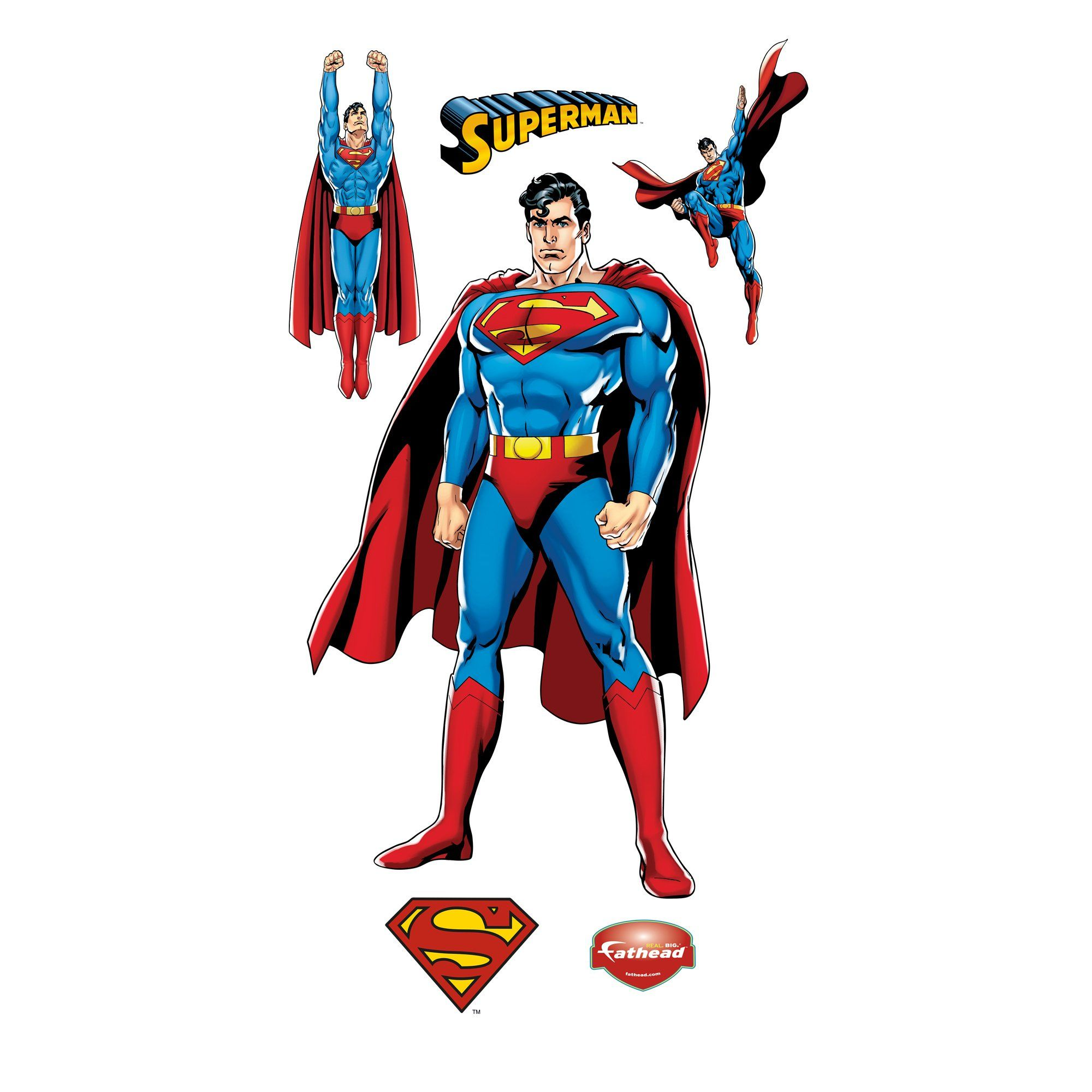 DC Superman Justice League Wall Decal
