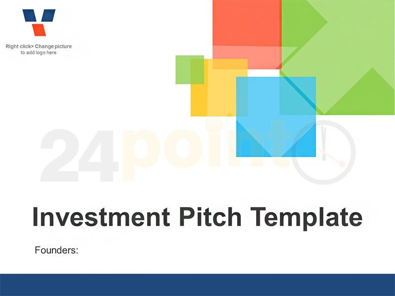 Investor Pitch - Editable PowerPoint Business Template This deck are ...