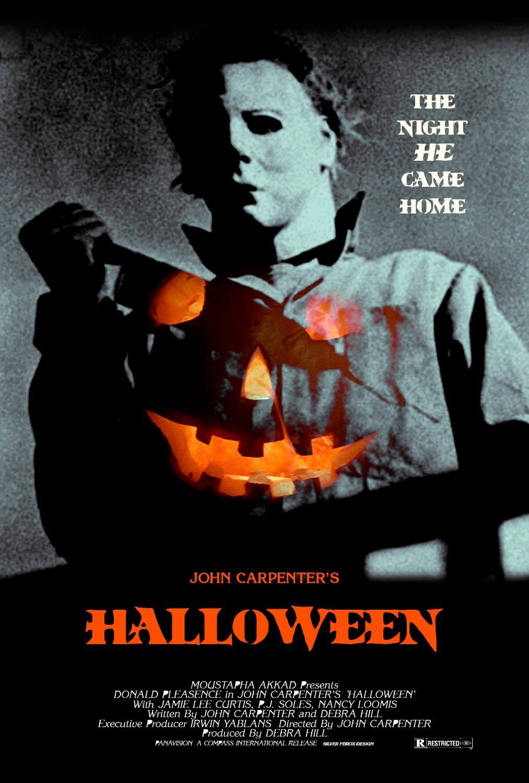 Halloween (1978) fan poster | Peliculas de terror, Poster de ...