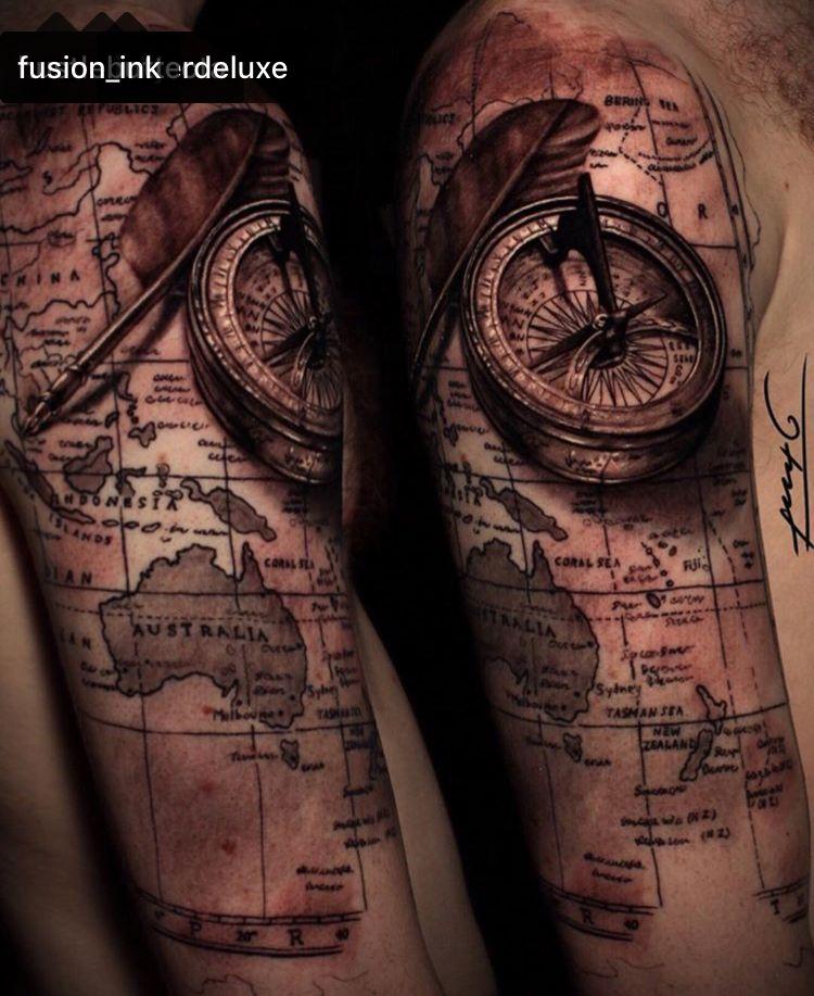 Pin by Ian MacGillivray on Tattoo Half sleeve tattoos