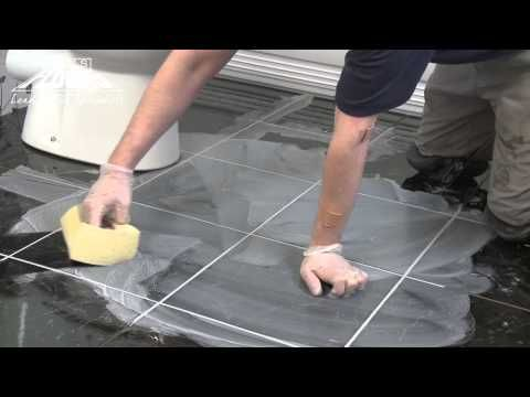 How To Grout A Floor Tile Floor Grout Flooring