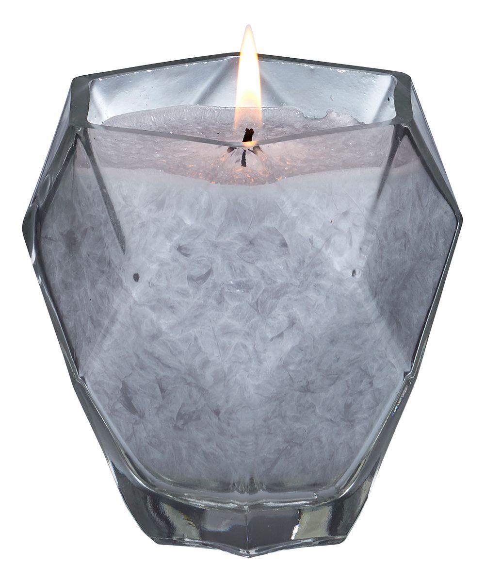 Moonstone Jewel Glass Candle