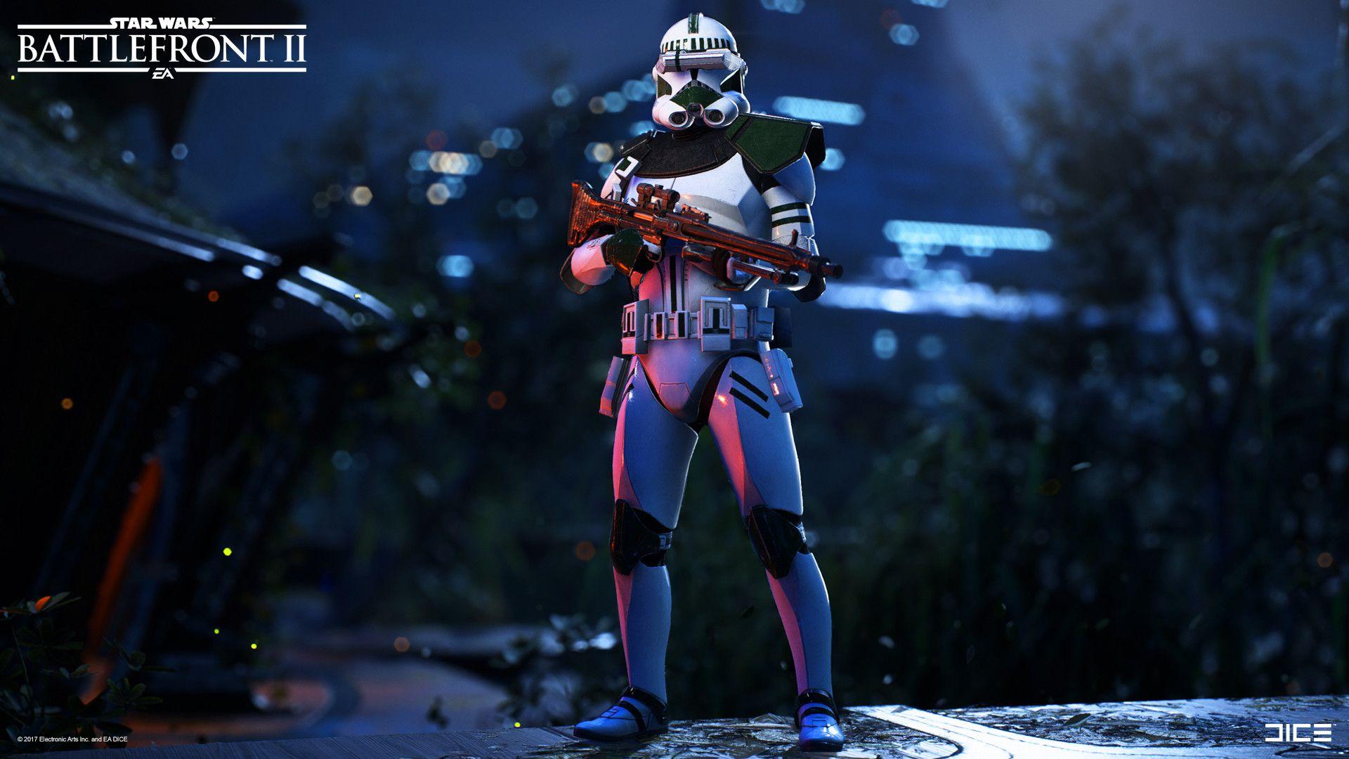 Artstation Star Wars Battlefront 2 Clone Trooper Specialist