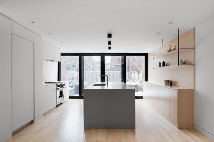 Bright Home In Montreal Remodeled By Naturehumaine Kitchen Cook New 1970S Kitchen Remodel Minimalist Property