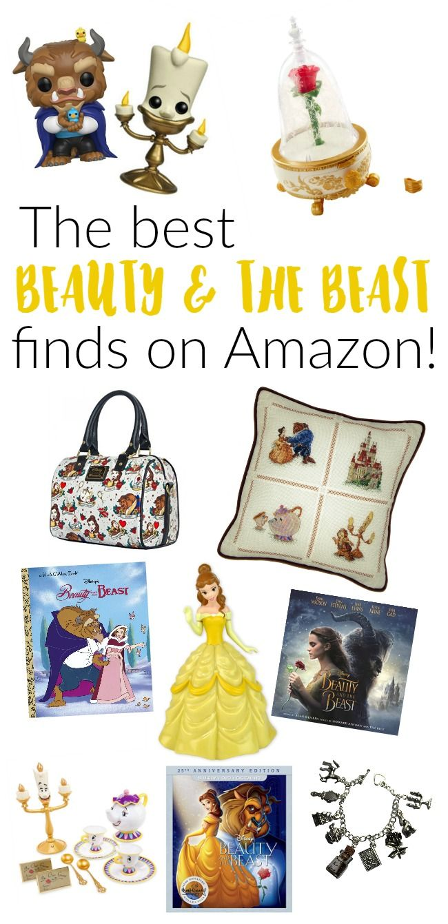 Looking for some super cute Beauty and the Beast finds for that Disney lover? Check out these best ones found on Amazon. Perfect gift ideas!