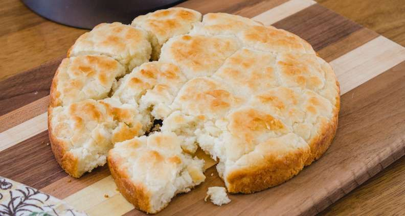 Touch Of Grace Biscuits Southern Kitchen Style Southern Biscuits Recipe Biscuit Recipe Homemade Biscuits