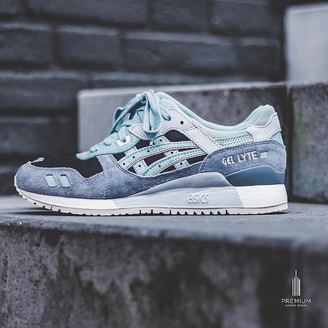 """best website beca1 2bf9b Asics Gel Lyte III """"Blue Surf"""" 