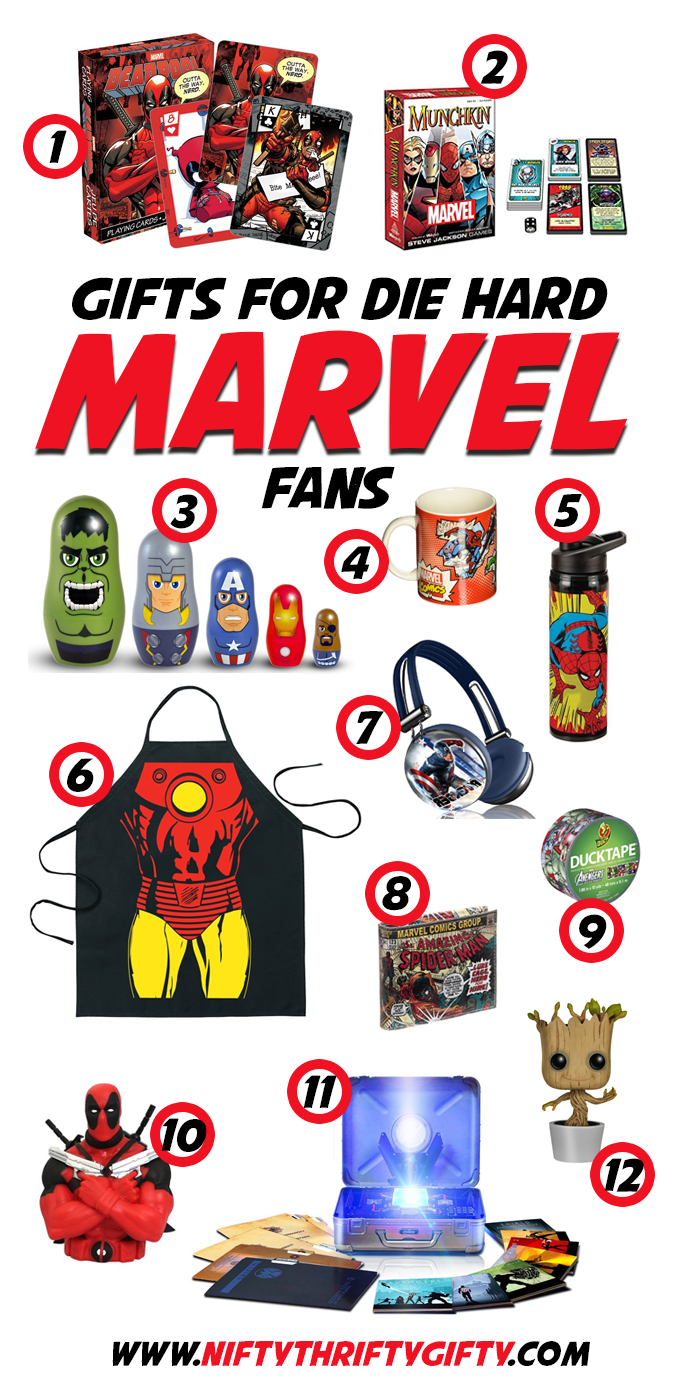 Marvel Gifts Gift Ideas