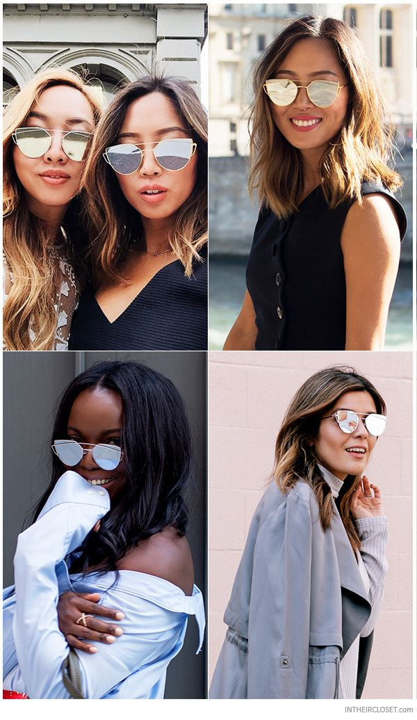 2af39ed3898 Personal Style Bloggers wearing Gentle Monster Love Punch Geometric  Sunglasses