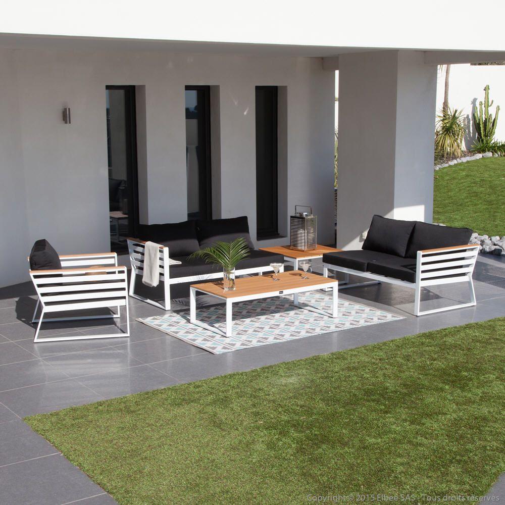 Salon de jardin 5 places MARINO Ermanno G | Meubles pas Cher ...
