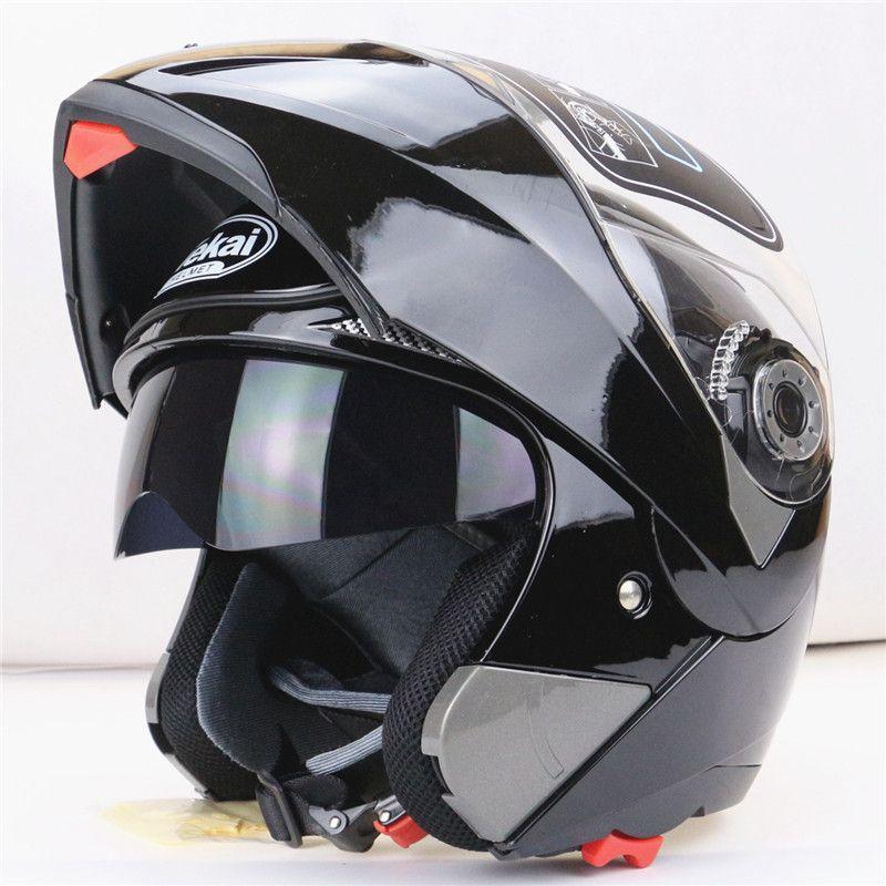 Motorrad Modularer Integralhelm mit Visier Sun Shield