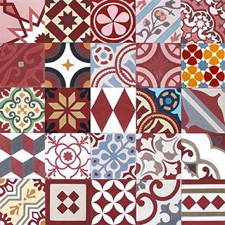 Stock Online De Carreaux Ciment En Motif Azulejos De Mosaico