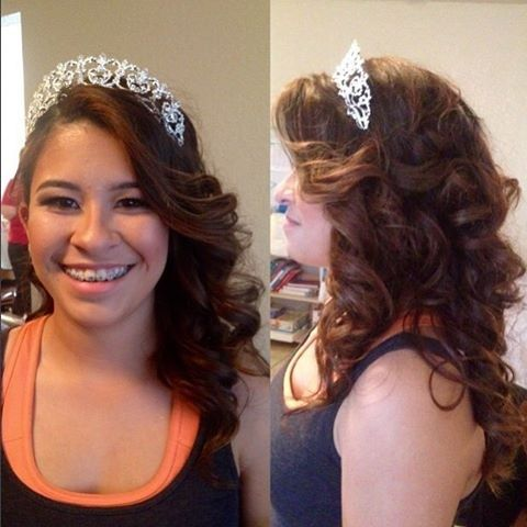 Hairstyles For Quinceaneras Modern Quinceanera Hairstyle Ideas That Slay  Pinterest  Hair Style