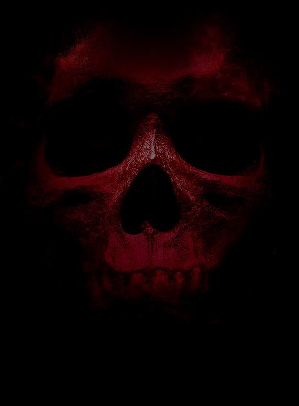 Red Skull Black Skulls Wallpaper Red And Black Background Skull Wallpaper