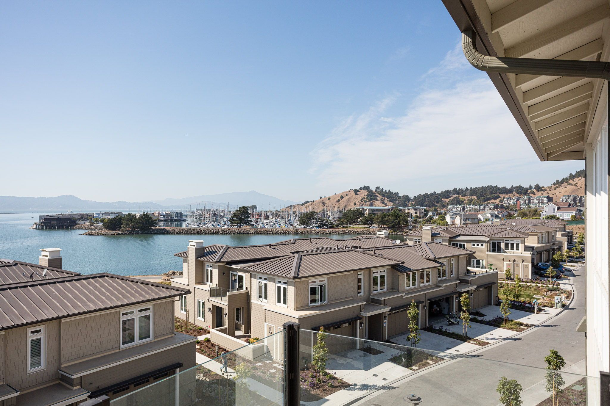 Waterline in Point Richmond, CA by Shea Homes | Residence 4 Deck Views #SheaHomes #SheaHomesNorCal #SheaHomeowners #SheaNorCal #LiveTheSheaDifference #NorCalHomes #NorCalRealEstate #BayAreaRealEstate #BayAreaNewHomes #HomeDesignInspiration #HomeInspiration #Waterline #PointRichmond Sales: Shea Homes Marketing Company (CalDRE #01378646); Construction: Shea Homes Limited Partnership (CSLB #855368). Equal Housing Opportunity.
