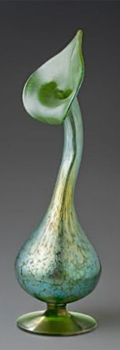 Plant Form Vase Johann Ltz Witwe Glassworks Loetz Pinterest