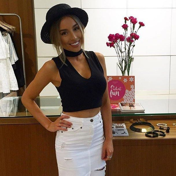 6eaa1427b6 The Circa Top in Black   White has now been restocked in Boutiques    Online! Xx  kookai