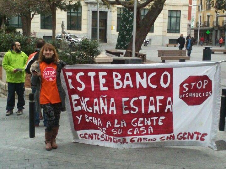 #cierrabbva en Guadalajara Spain