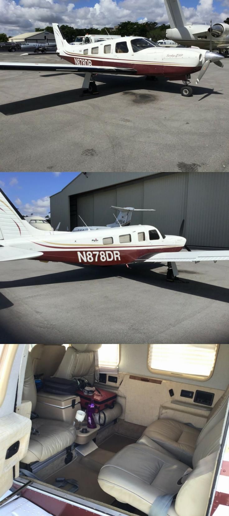 no damage 1996 Piper Saratoga pa32 aircraft