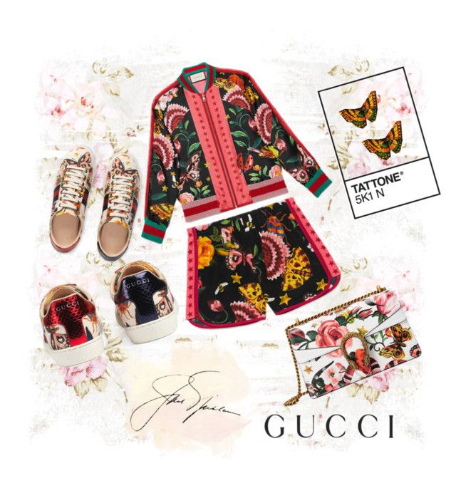 """just gucci"" by britishviand on Polyvore featuring Gucci"