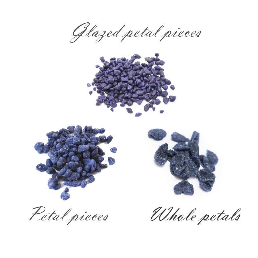 Crystallised Violet Petals