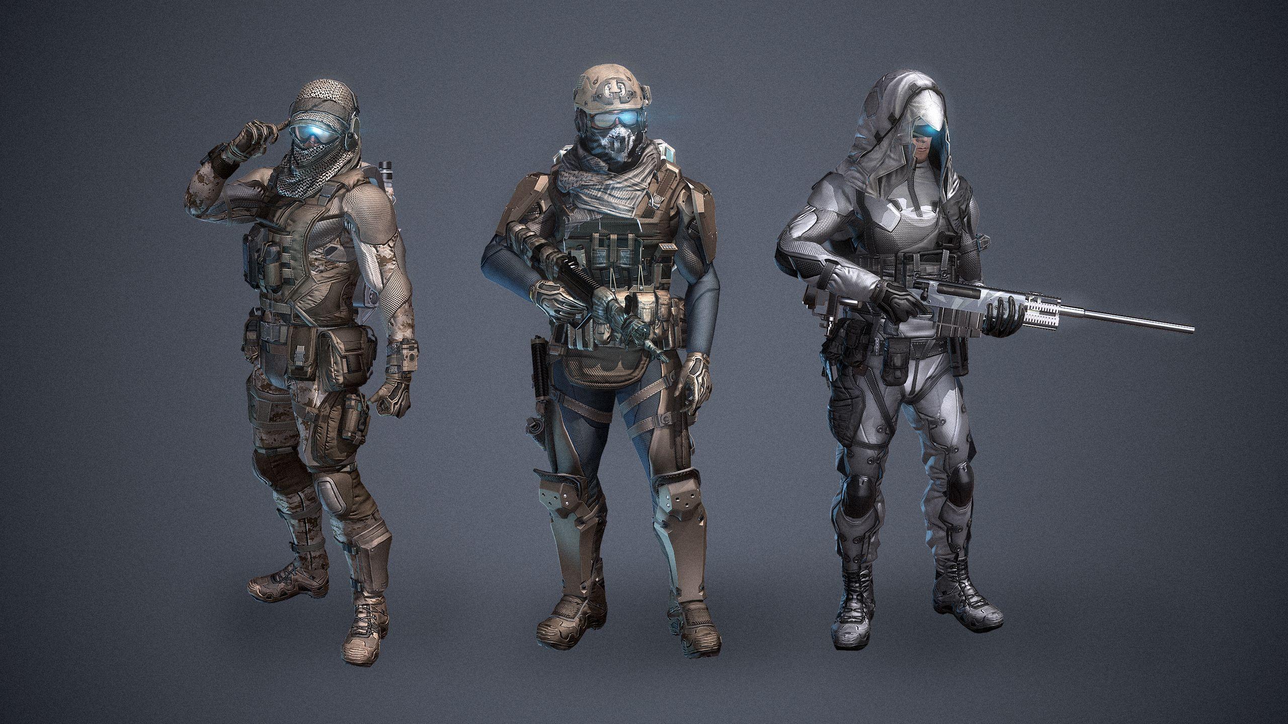 Concept Art | Media | Ghost Recon Phantoms | Official Website (Ubisoft, 2014)
