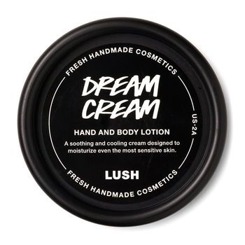 lush dream cream face
