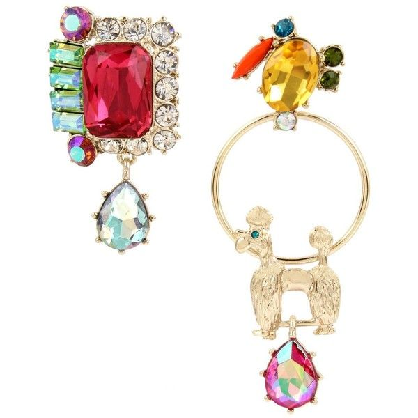 earrings betsey fruity johnson paradise mismatch lost