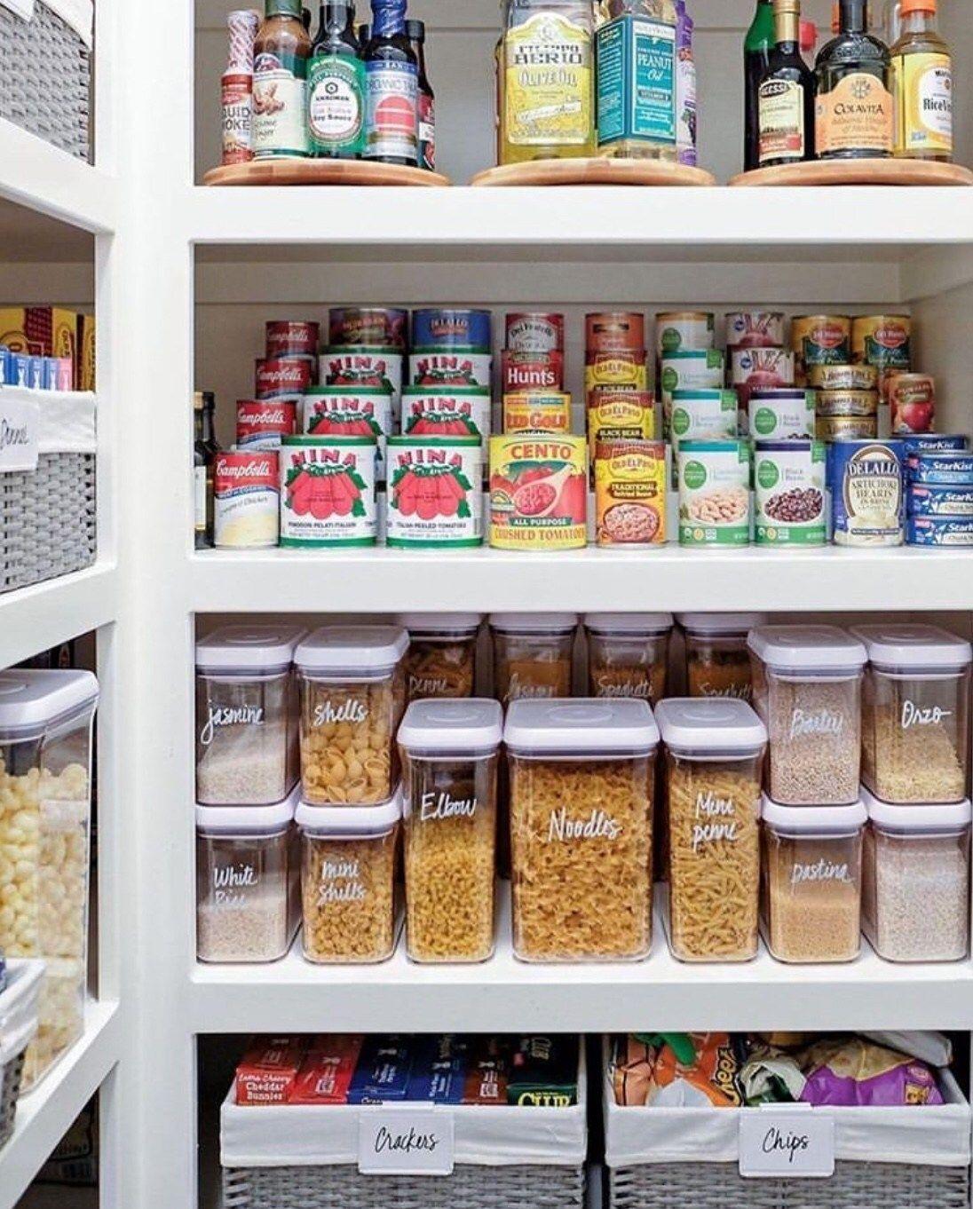50 Clever Pantry Organization Ideas The Wonder Cottage Organizing Your Home Diy Kitchen Storage Kitchen Storage Organization