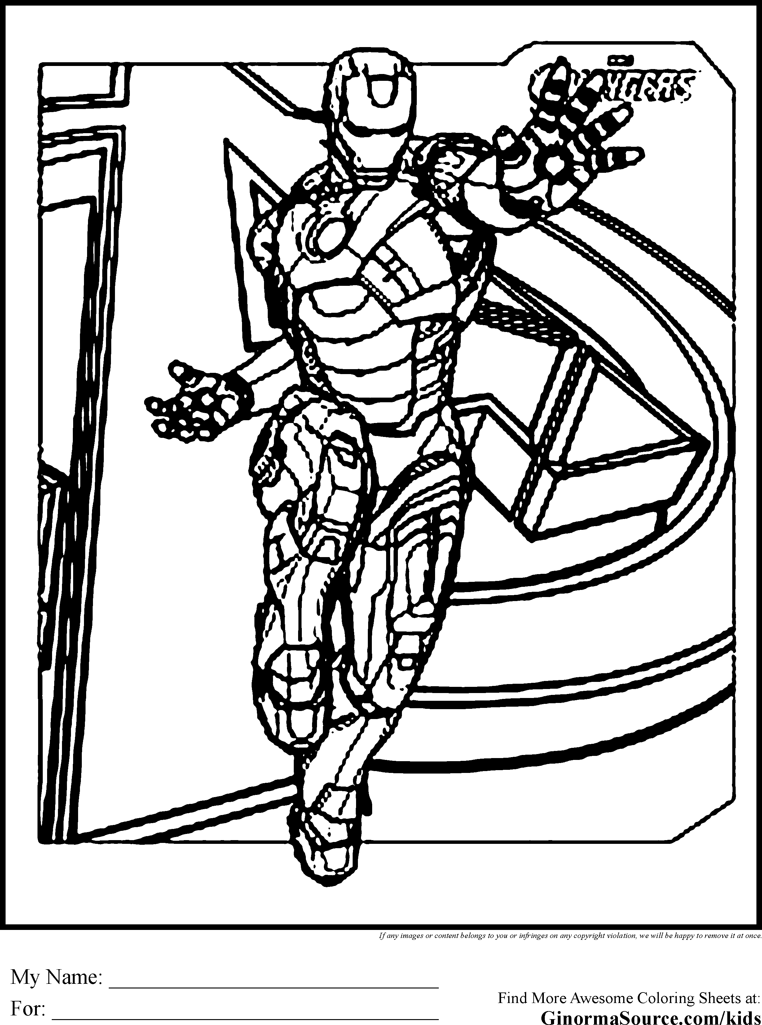 avengers coloring pages iron man is tony stark a billionaire who was injured and because of all his funds was able to use his engineering skills