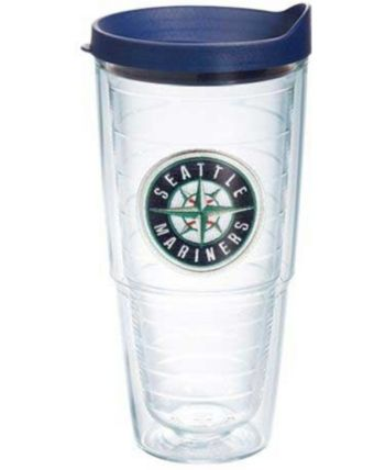 beeb009ff28 Tervis Tumbler Seattle Mariners 24 oz. Emblem Tumbler - Clear ...