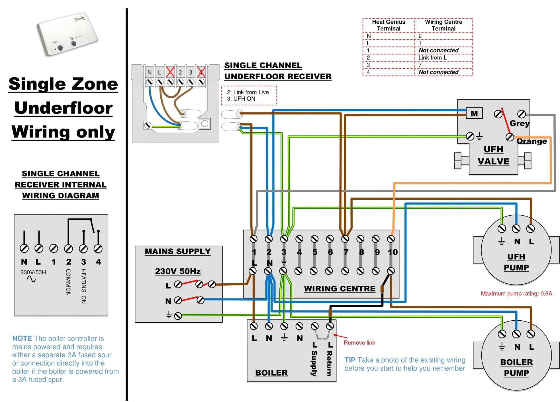 16 Electric Floor Heating Wiring Diagram Heating Systems Thermostat Wiring Central Heating