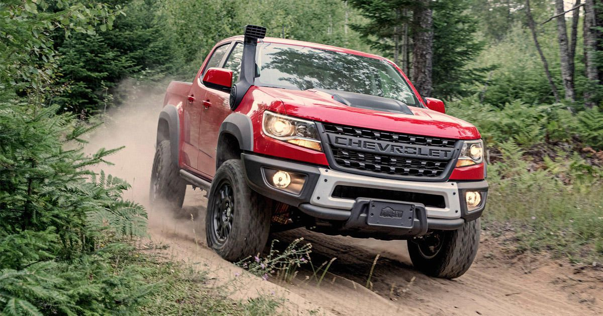 2017 Chevrolet Colorado Zr2 And Diesel Release Date Price